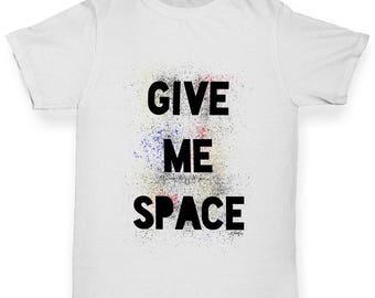 Boys Funny Tshirts Give Me Space Boy's T-Shirt