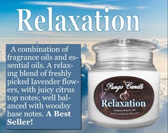 Relaxation Scented Jar Candle (16 oz.)!