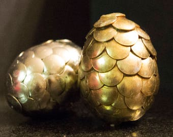 Set of 2 Mini Dragon eggs