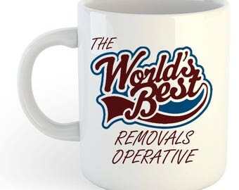 The Worlds Best Removals Operative Mug