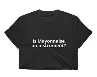 Mayonnaise Crop Black