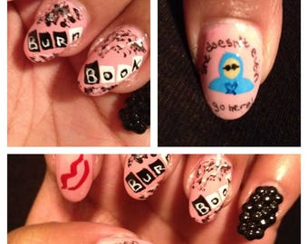 Mean Girls Press on Nails