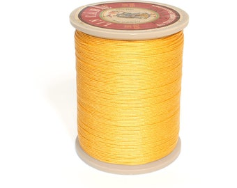 Sajou Waxed  Linen Thread: Yellow