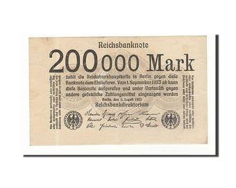 germany 200000 mark 1923 km #100 1923-08-09 unc(60-62)