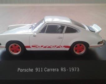 Porsche 911 Carrera RS-1973 scale model 1:43 collectors collection Item