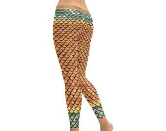 Mermaid Leggings- Women (5 colors)