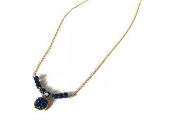 Blue Is Your Color Necklace