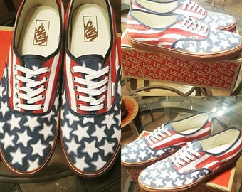 Custom Authentic Vans