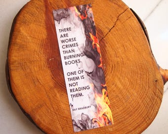 Ray Bradbury Quote Bookmark
