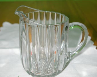 A milk or water pitcher