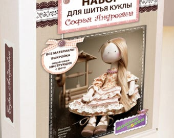 "Sewing kit ""Doll Sofia"""