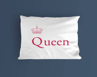 Queen on a Pillow