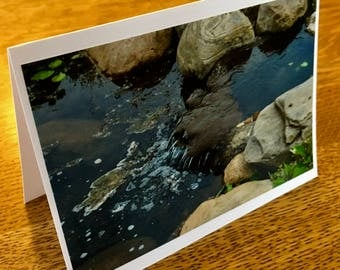 Waterfall Photo Card