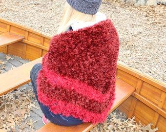Hand-Knitted Stylish Shawl