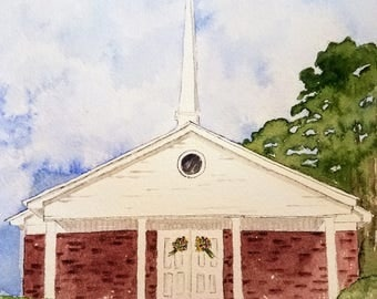 Updated Chapel painting for Stephanie