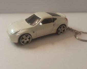 Custom Made Diecast Keychain 2009 Nissan 370z