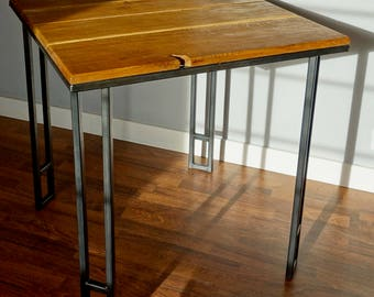Kino: Oak and Steel Dining Table