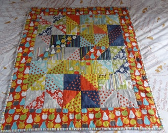 Baby play mat quilt