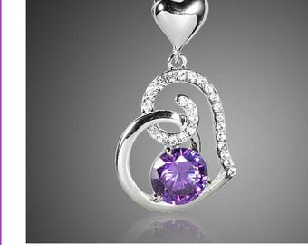 Austrian crystal heart