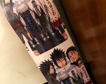 7.75 Sasuke themed skateboard