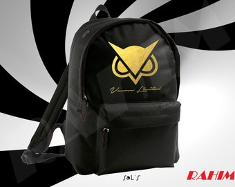 Vanoss VG limited edition gold youtuber Backpack