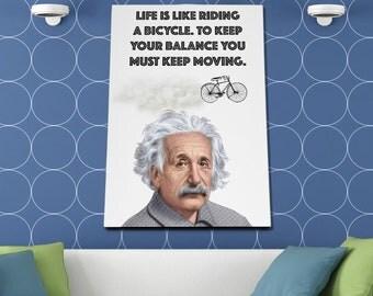 Albert Einstein Poster or Canvas