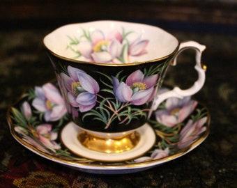 """Royal Albert 'Provincial Flowers"""" Tea Duo"""