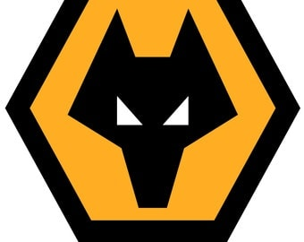 Wolverhampton Wolves Football team car sticker