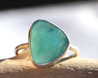 Sail Amazonite Ring