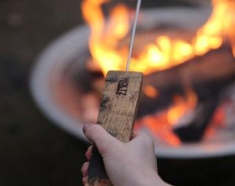 Roasting sticks etsy set of 4 tennessee whiskey barrel smore smore marshmallow roasting sticks wedding fire pit publicscrutiny Gallery