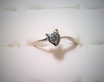 18K Gold Plated Cubic Zirconia ring