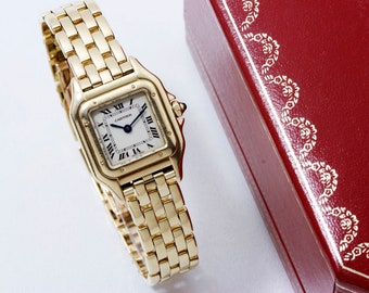 CARTIER - Watch Panther discount new Cartier warranty July 2019