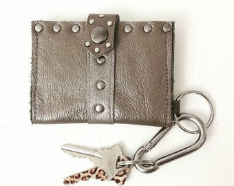 SALE Metallic Taupe Wallet