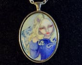 Fiona Cameo Necklace from...