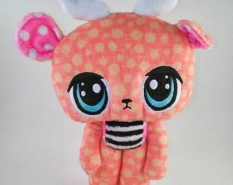 Stitches handmade doll 8051
