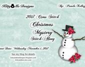 2017 Christmas Cross Stitch Mystery Stitch Along by Pamela Kellogg