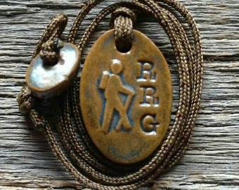Red River Gorge (RRG) Hiker Necklace