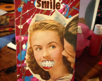 Smile too {Original Collage}