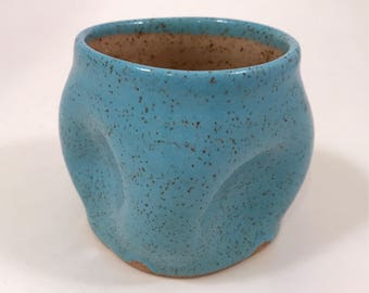 squishy cup in blue