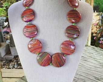Composite Bead Necklace