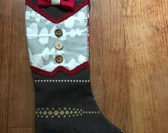 The Dixon Special Occasion Stocking by IM.BUTTERFLYCREATIONS