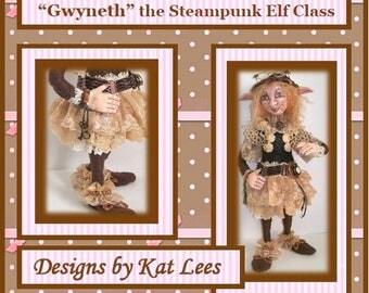 Gwyneth The Steampunk Elf  -  E-Pattern