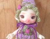 RealPuki and  DHS Pepper Elf Clothes Hat Romper Dress Outfit Shoes PDF Digital Crochet PATTERN