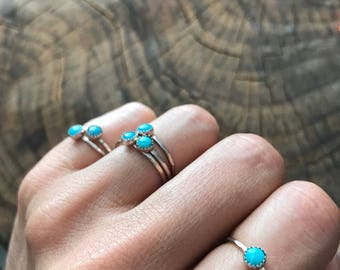 SALE Lago Turquoise Stacking Ring