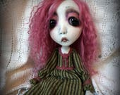 Loopy Southern Gothic Art Doll Victorian Dark Goth Ghostly Rose