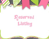 Reserved for Lexi