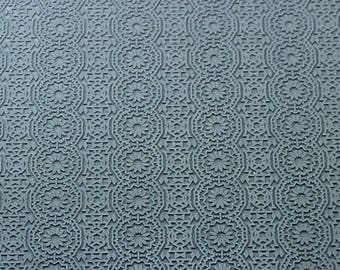 CELESTIAL  Embossed Rubber Texture Tile Mat Stamp for Clay inks Ceramics Paint Soap  MGT522