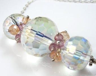 SUMMER SALE Rock Crystal in Pastel