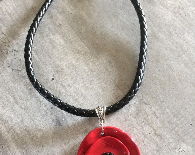 Choker necklace - poppy - new collection