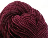 Valkill Hand Dyed DK weight NYS Wool 252 yds 4oz Red Cabbage